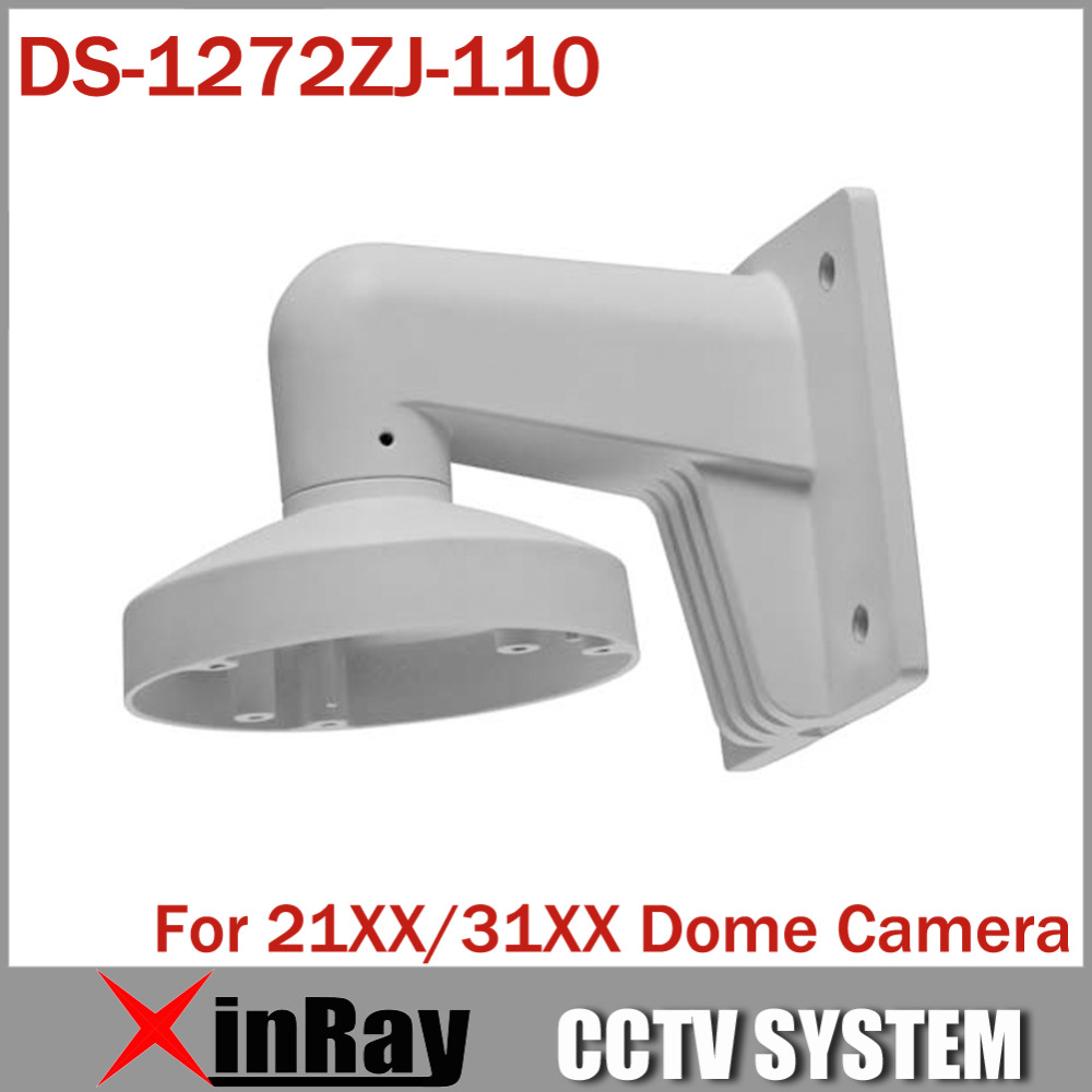 Original High Quality Bracket DS-1272ZJ-110 for Camera DS-2CD2142FWD-IWS DS-2CD2142FWD-I Wall Mount Bracket in stock ds 1272zj 110 cctv camera wall mount bracket for mini dome camera ds 2cd2132f iws ds 2cd2142fwd iws