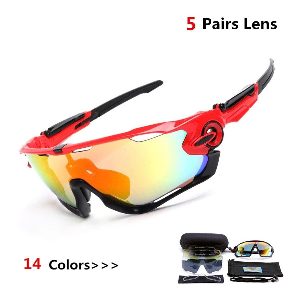 ce9b2defbb Ciclismo Gafas polarizadas para hombres 5 lente deportes al aire libre Gafas  TR90 hombres mujeres MTB bicicleta Ciclismo Gafas de sol, Gafas de Ciclismo