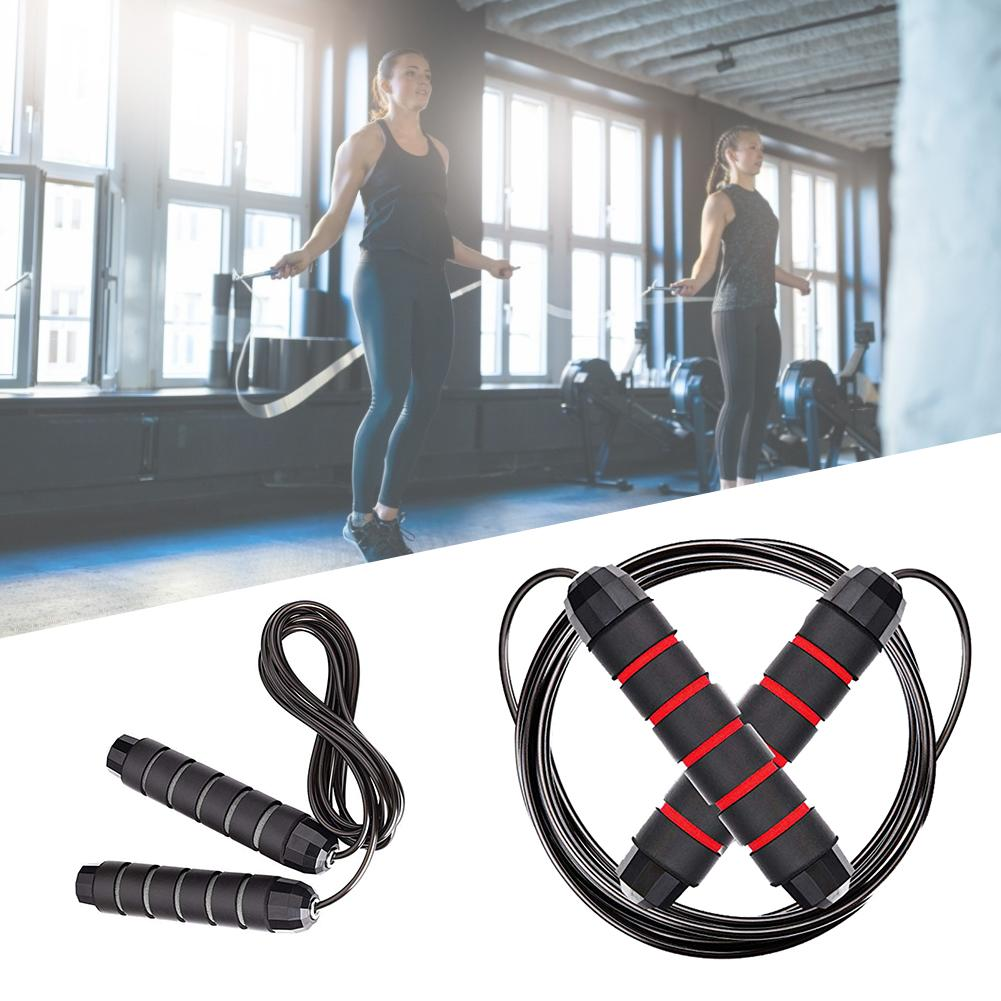 Adjustable Jump Rope Cardio Skipping Rope All Heights And Skill Levels For Aerobic Exercise Speed Training Endurance Training in Jump Ropes from Sports Entertainment