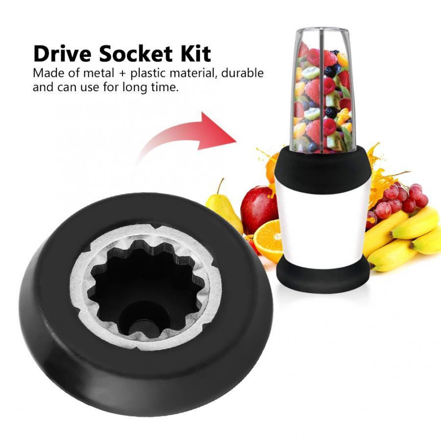Drive Socket Kit for Nutri Bullet Blender RX 1700W Replacement Part Drive Socket Kit