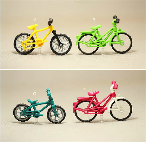 5Cm Mini Small Cycling Decoration Model Bicycle Classic -7915
