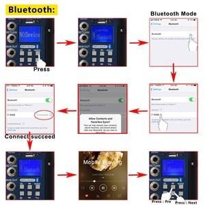 Image 3 - Freeboss SMR8 Bluetooth USB kayıt 8 kanal (4 Mono + 2 Stereo) 16 DSP kilise okul Karaoke parti USB DJ mikseri