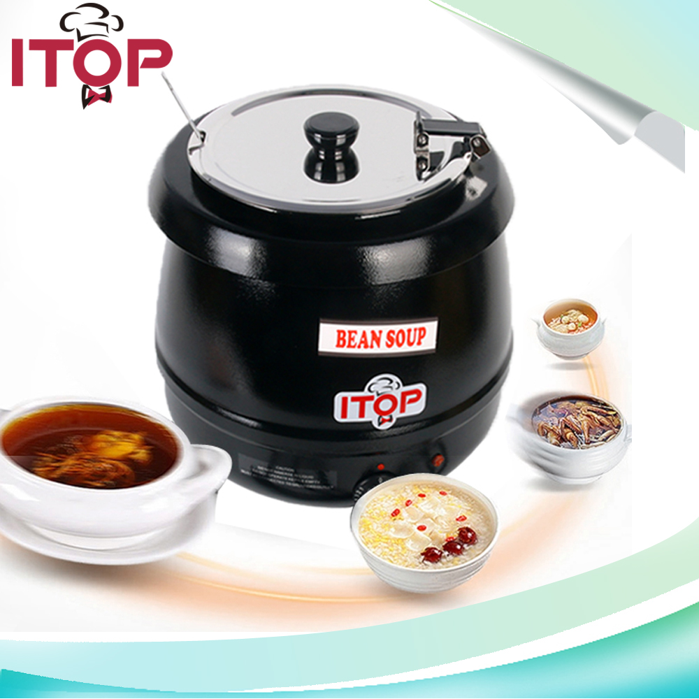 itop bsw1c winter hot drink pot soup warmer kettle 110vus plug 220v - Soup Warmer