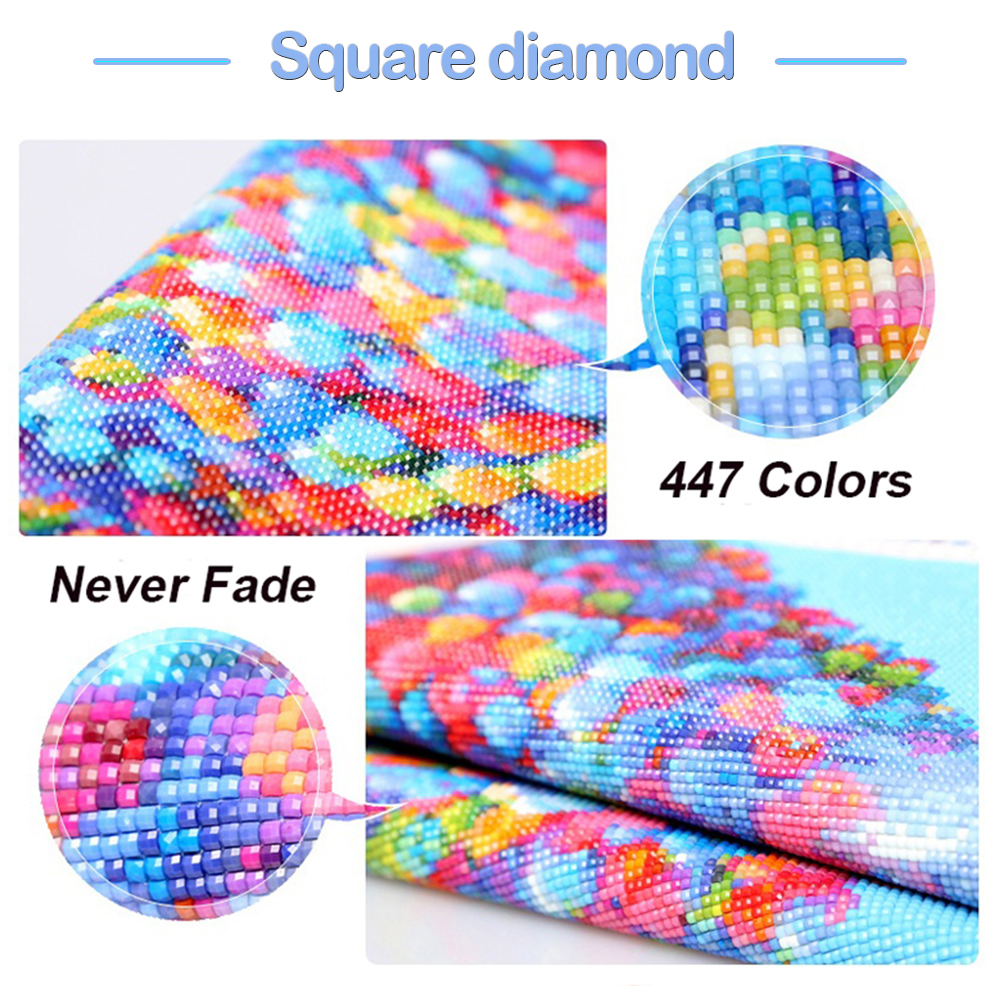 Photo Custom Diamond Mosaic Painting Rhinestones Full Drill Square Diamond Embroidery Picture Beads Wallpaper 5D Gift a840 in Diamond Painting Cross Stitch from Home Garden
