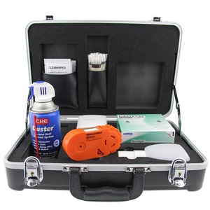 Image 3 - Kit de ferramentas de limpeza de fibra óptica KF 710C interface ntt limpador cotonete de algodão kit de ferramentas de limpeza do japão