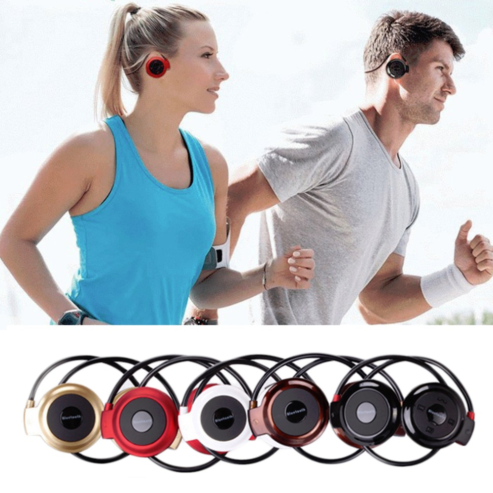 MINI503 Ear Hook Mini Sports Wireless Bluetooth Headset Hi-Fi Handsfree Stereo Earphone Headphone TF Card For MP3 Player leegoal bluetooth headset stereo hand free mini auriculares earphone ear bud wireless headphone earbud handsfree for smartphone