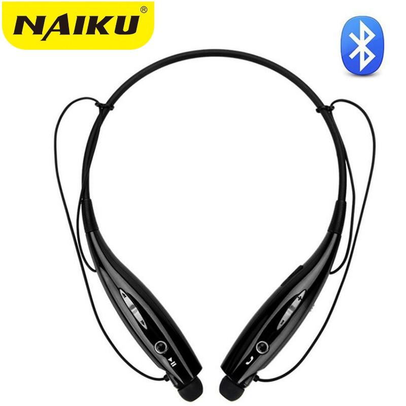 Hot NAIKU Wireless Bluetooth Headset 730 Sports Bluetooth Earphones Headphone with Mic Bass Earphone for Samsung iphone xiaomi