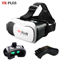 2017 VR Plus VRBOX 3.0 Headset Virtual Reality Helmet 3D Glasses Google Cardboard HD Coating Glass Lenses For Smartphone 4-6'