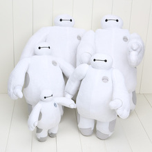 5 styles can choose 18cm 30cm 38cm Baymax plush dolls The Baymax plush font b Toys