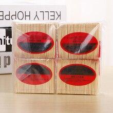 100 шт./пакет одноразовая зубочистка из натурального бамбука для вечерние зубочистки фруктов, очистка полости рта, чистка зубов кухонные аксессуары