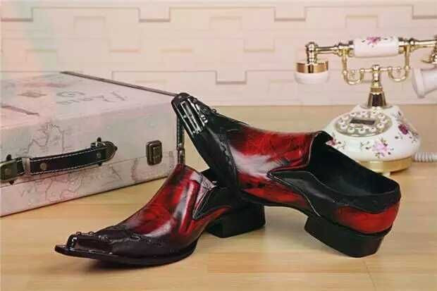 Club Richelieu Bout Tendance Bar Black Rouge Homme Rétro Chaussures Mariage Pointu Hommes Robe Travail Décontracté Soirée De Carrière Mode oCdBWrxe