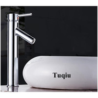 Factory direct Sale Chrome Bathroom High Sink Faucet Hot and Cold Single Lever Basin Faucet