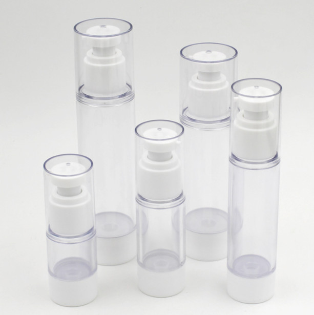 Free shipping 50ml airless bottle cosmetic package cosmetic container pump bottle
