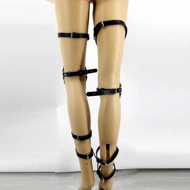 Handmade High Sock Garters Punk Belts3