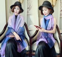 Donne di lusso di alta qualità cashmere fiore di seta scialli Marmitta hijab lungo dell'involucro della fascia sciarpe/sciarpa 180*90 cm 5 pz/lotto