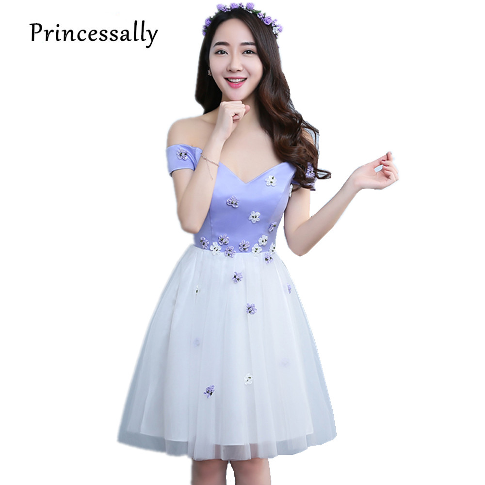 Compare prices on bridesmaid dress lavender online shoppingbuy lavender bridesmaid dress boat neck short sweetheart sexy summer purple graduation homecoming gown vestido de festa ombrellifo Gallery