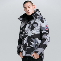New Coat Mens Duck Down Jackets Winter Warm Coat Men's Thick Down Overcoat Military Jackets Parkas Homme Goose Jakcets Man Male