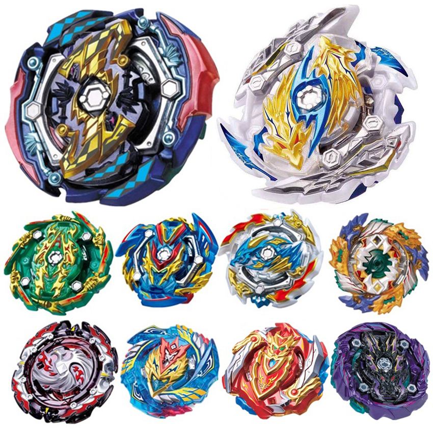 Tops Launchers <font><b>Beyblade</b></font> metal fusion <font><b>B</b></font>-143 <font><b>B</b></font>-144 Burst GT Toys Arena Metal God Bayblade GT Spinning Top Bay Bey Blade Blades Toy image