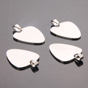 120pcs/lot Stainless Steel Silver Blank Tags Pendants  Necklace Jewelry DIY Pet ID Dog Cat Tags
