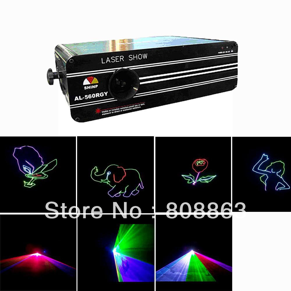 new Red/Green/purple colors DMX512 ILDA  Laser DJ Party dace Animation Professional Stage Light system show x9