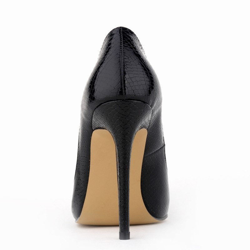 LOSLANDIFEN Sexy Crocodile Women Pumps Beauty Party Shoes Spring ... 383136ef81aa