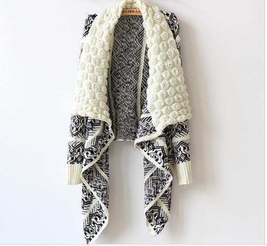 Loose Knit Shawl Pattern : Online Get Cheap Crochet Sweater Coat Pattern -Aliexpress.com Alibaba Group