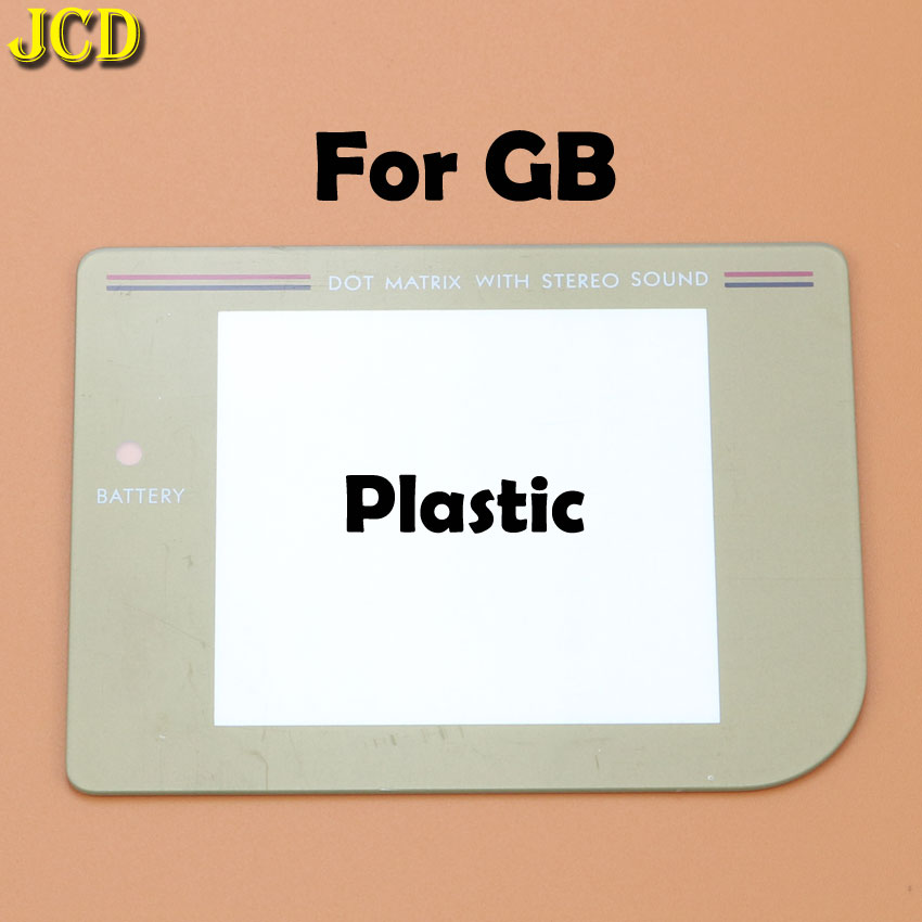 Image 4 - JCD 1Pcs New Glass Plastic Screen Lens cover For Nintend Gameboy Classic For GB Lens Protector-in Replacement Parts & Accessories from Consumer Electronics