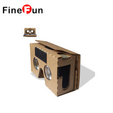 FineFun 2017 New Version Google Cardboard 2 Version Virtual Reality VR Glasses for 3.5-6 Inch Smart Phone Free Shipping