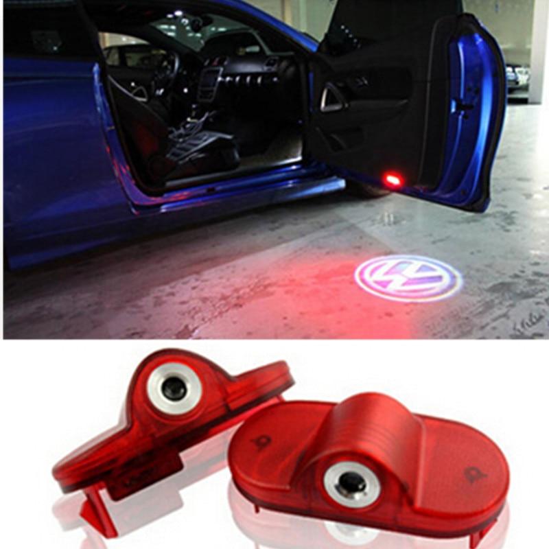 car styling led door warning light with vw logo projector door logo light for vw golf 4 mk4. Black Bedroom Furniture Sets. Home Design Ideas