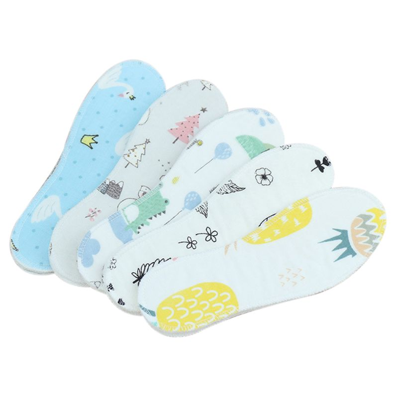 5 Pairs Kids Insole Shoe Pads Children Cartoon Print Non-slip Breathable Cushion Soft Comfortable Sweat Absorb Gauze Universal5 Pairs Kids Insole Shoe Pads Children Cartoon Print Non-slip Breathable Cushion Soft Comfortable Sweat Absorb Gauze Universal