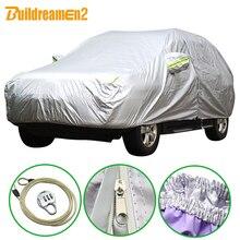 Чехол для автомобиля Buildreamen2, чехол для внедорожника, седана, хэтчбека, защита от УФ лучей, защита от дождя и снега, водозащита от солнца