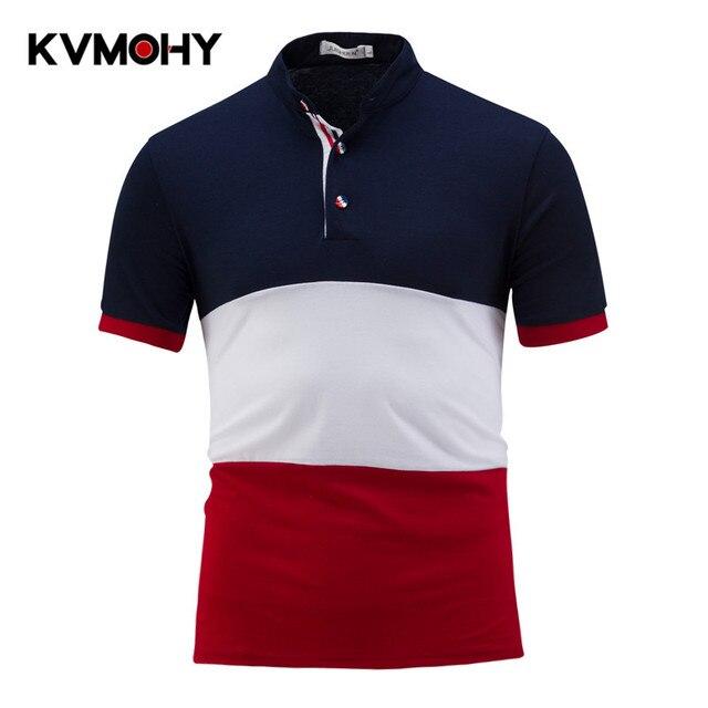 3d35fda9ecdb6 Camisa de Polo de los hombres Polos Business Casual Para Hombre marca Polo  algodón Slim Fit