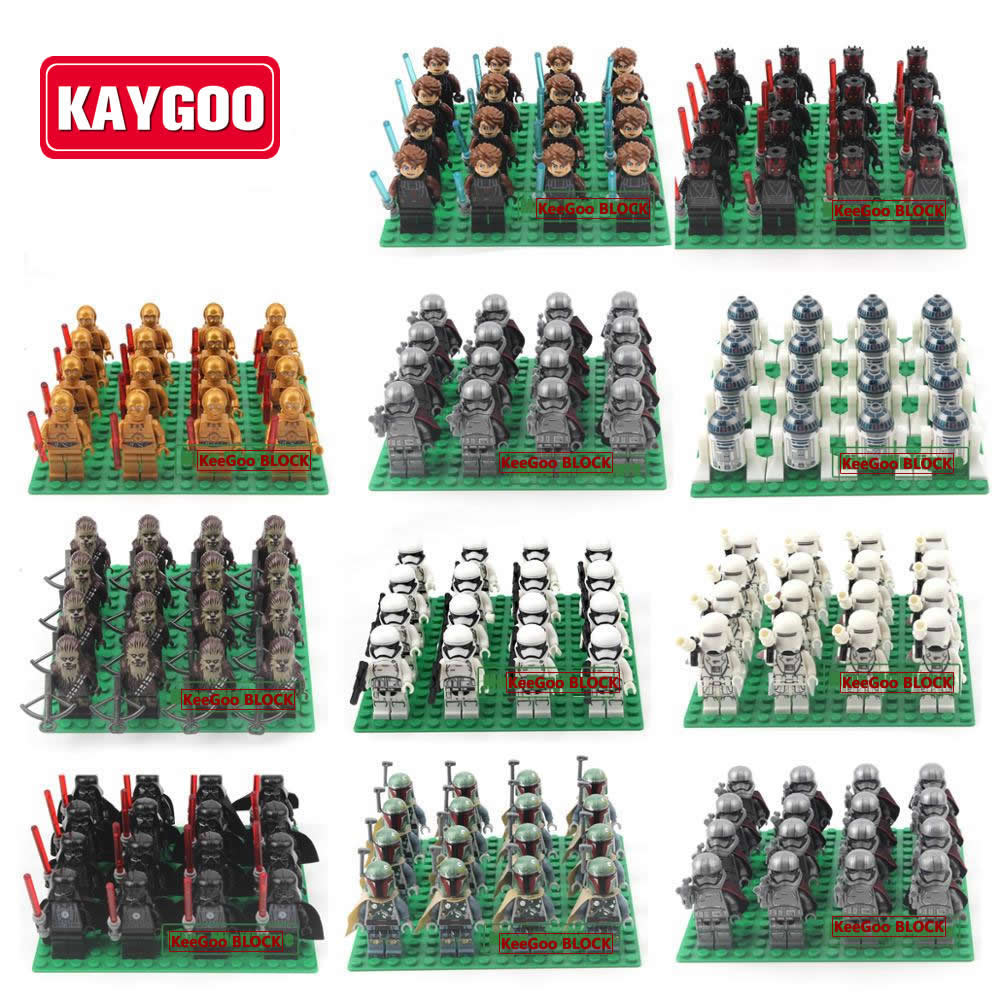 Kaygoo 20pcs Star Series Space War Kylo Ren Darth Vader