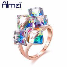 49% кольцо женское золото бижутерия кольца с сиреневым  камнем