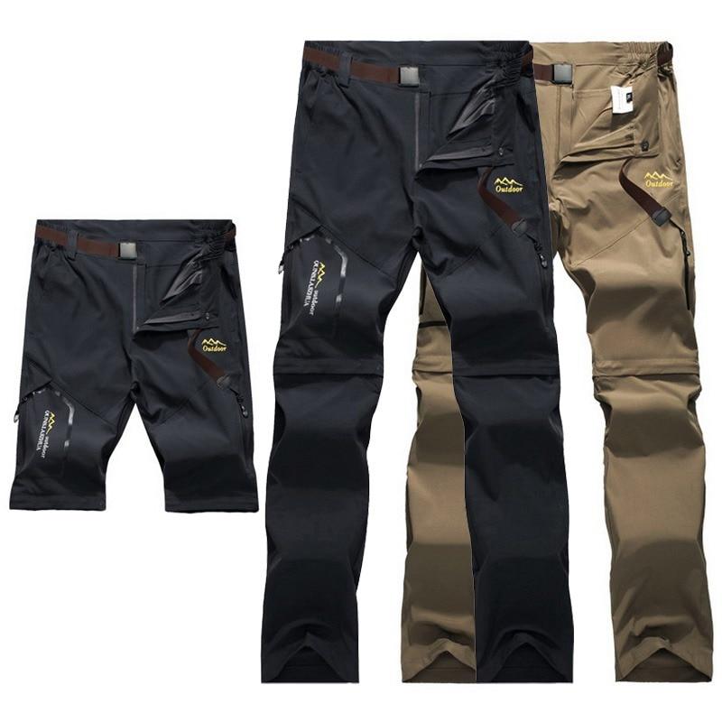 8984dad7fad30 LoClimb Outdoor Hiking Pants Men/Women Stretch Quick Dry Waterproof Trousers  Man Mountain Climbing/