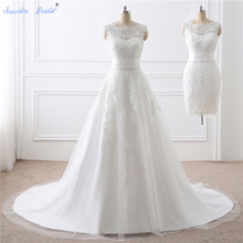 Sapphire Bridal Vestido De Noiva Two Pieces Bridal Wedding Gowns 2 in 1 Wedding  Dress With fdcdcacdd992