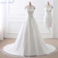 2015 Hot Sale High Quality Wedding Veil One Layer 3 Meters White Ivory Long Lace Edge