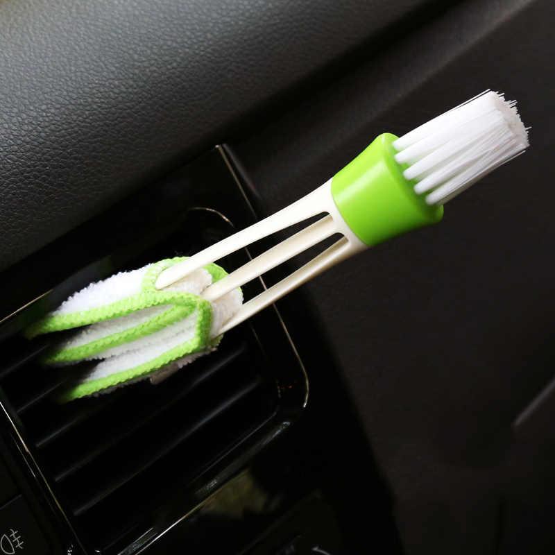 Coche cepillo de limpieza para el Audi A3 8P 8L 8V A4 B6 B8 B7 B5 B9 A6 C5 C6 C7 Q5 Q7 TT 80 100 A1 Q3 A8 A2 A7 S3 R8 Interior Accesorios