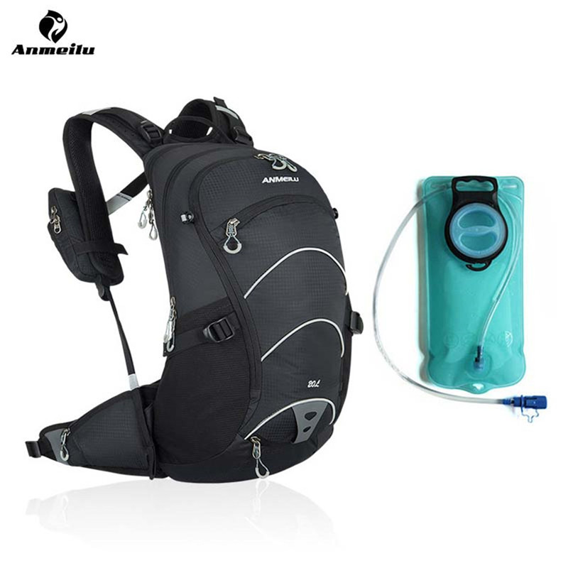 ANMEILU Cycling Bag Outdoor Water Bladder Sport Hydration Backpack Riding Hiking Climbing Bicycle Backpack Bike Accessories roswheel 22l ultralight cycling mountain bike bag hydration pack water backpack reflective bicycle bike hiking climbing pouch