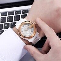 DALISHI Brand Men Quartz Watch 100% Ceramic Watch Male Business Dress Watch Limited Design Big Dial Calendar Clock Reloj Hombre