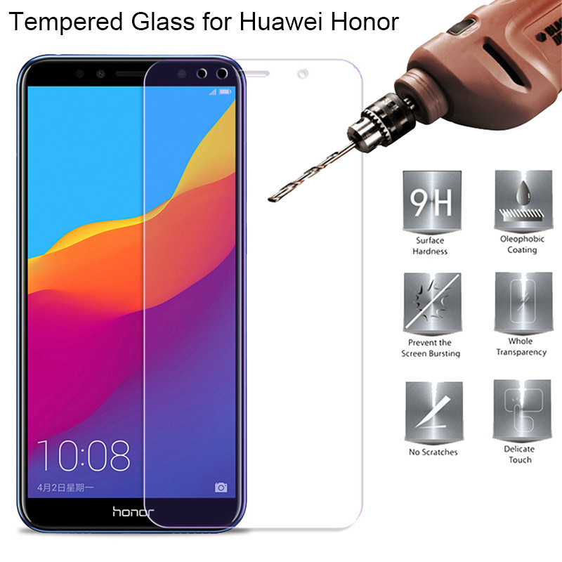 2pcs For Huawei Honor 7A Pro 7C Tempered Glass For Huawei Russia Version Protective Glass for Honor 7A 7C Pro Screen Protector(China)