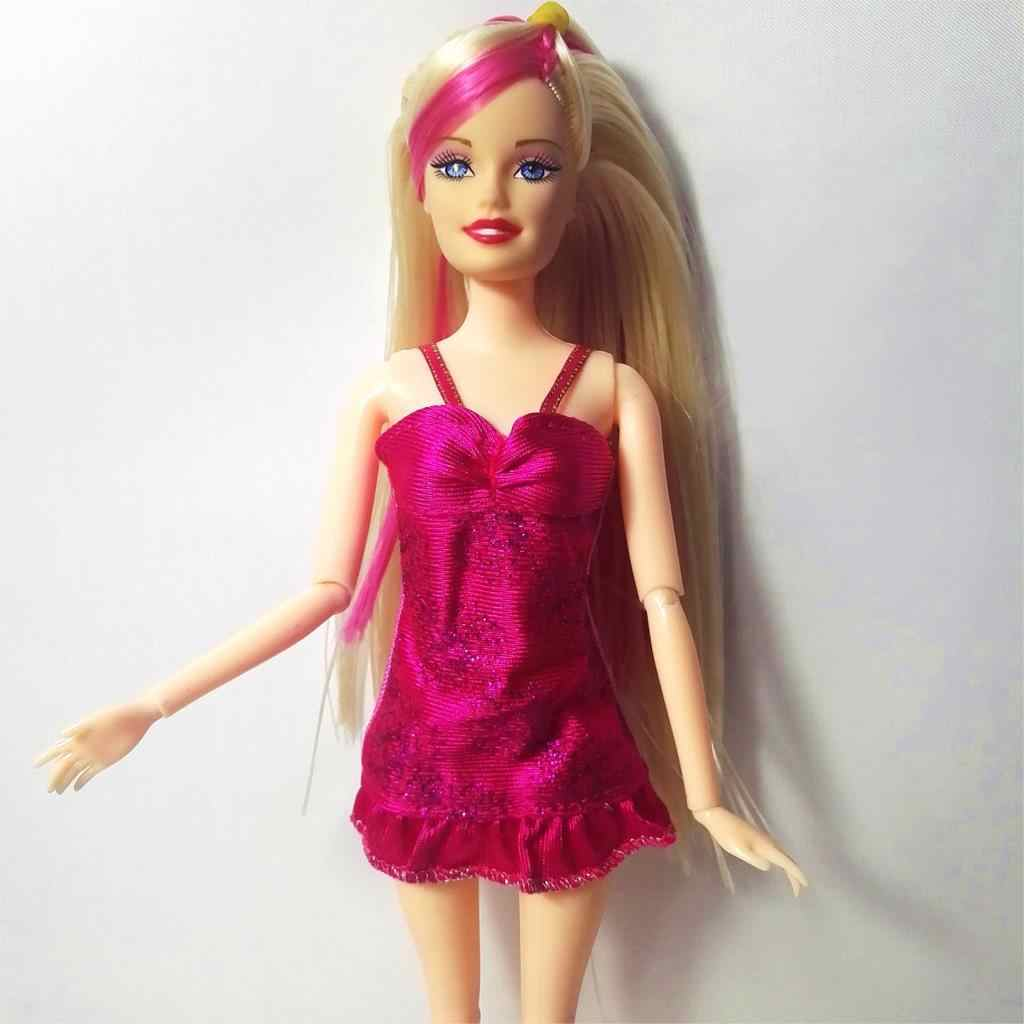 2017 новейшее платье для куклы красивые вечерние платья ручной работы Модное Барби