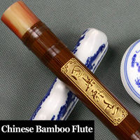 Chinese Bamboo Flute Professional Musical Instrument Flauta Ethnic Transverse Dizi Chinese Knot,Membrane,Glue as Gifts C/D/E/F/G