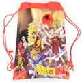 Seven Dragon Ball Cartoon drawstring children's school bags, kids birthday party Favor, Mochila escolar, school kids backpack