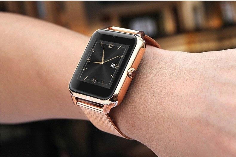 Surmos 100 Original Bluetooth Smart Watch Z50 Pedometer Sleep Monitoring Anti Lost Smartphone watch Support SIM