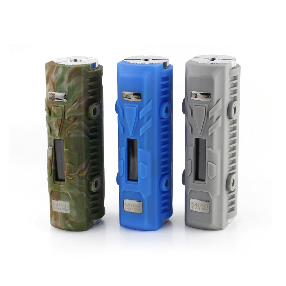 100% Original Dovpo Mini E-LVT Box Mod E Cig Adjustable Wattage ELVT mini 35W Mod Mini ELVT Waterproof Shock Pressure Resistant-5