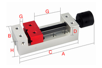 Wood carving vise High precision Vise Grinder CNC Vise For Surface Grinding Machine Milling Machine desktop pliers