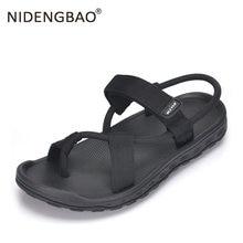 Мужские черные пляжные сандалии спортивная обувь унисекс высокого