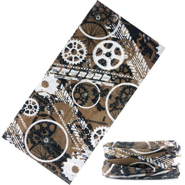 2018 New Fashion Skull Flame Bandana Headband Scarf Multi Functional Seamless Tubular Magic Bandanas Tube Ring Scarf 5