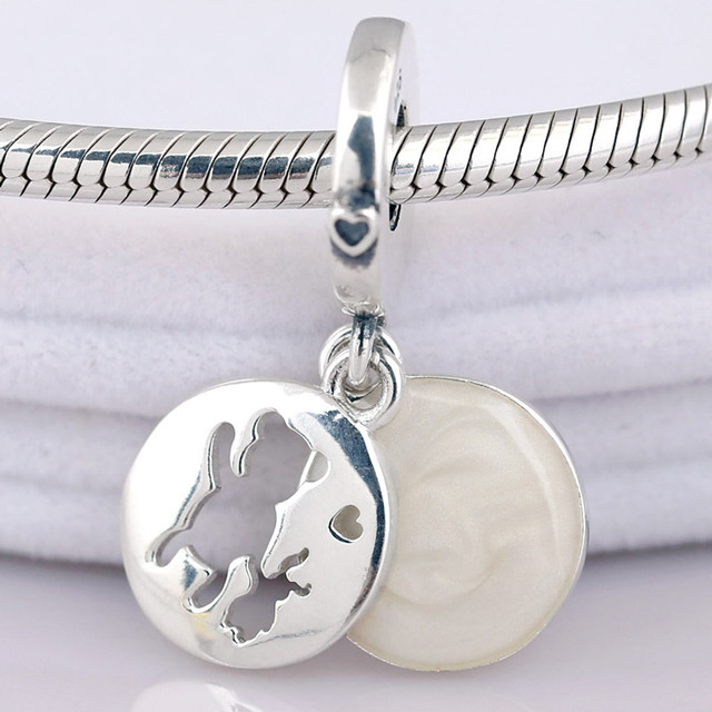 e32827b85 New Openwork Teddy Bear & Rabbit Perfect Pals Pendant Beads Fit Pandora  Bracelet Diy Jewelry 925 Sterling Silver Bead Charm